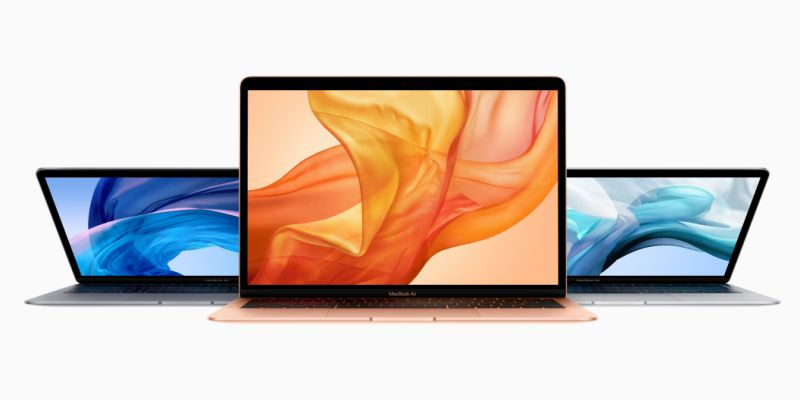 Apple MacBook Air 2018 design